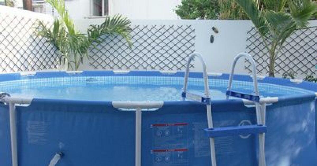 Dimensions et tailles d une piscine tubulaire - Piscine hors sol profondeur 2m ...