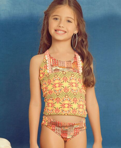 """Tankini enfant fille<span class=""""normal italic petit"""">© Maaji Swimwear</span>"""