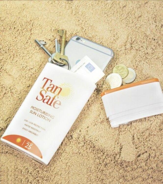 TanSafe Beach Safe : cachez vos objets de valeur à la plage