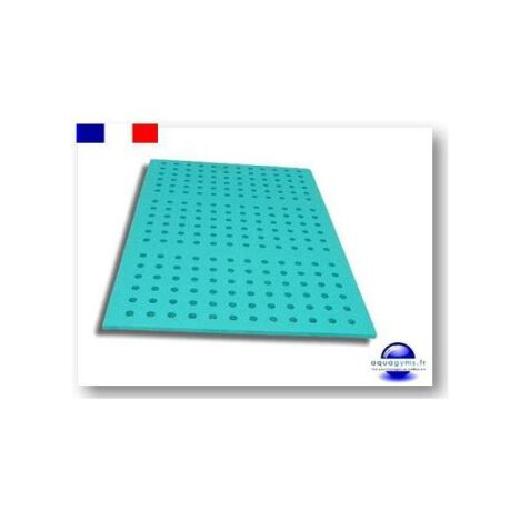 "Tapis aquatique perforé par Aquagyms  <span class=""normal italic petit"">© Aquagyms</span>"