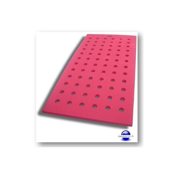 Tapis piscine trous par aquagyms for Tapis mousse piscine