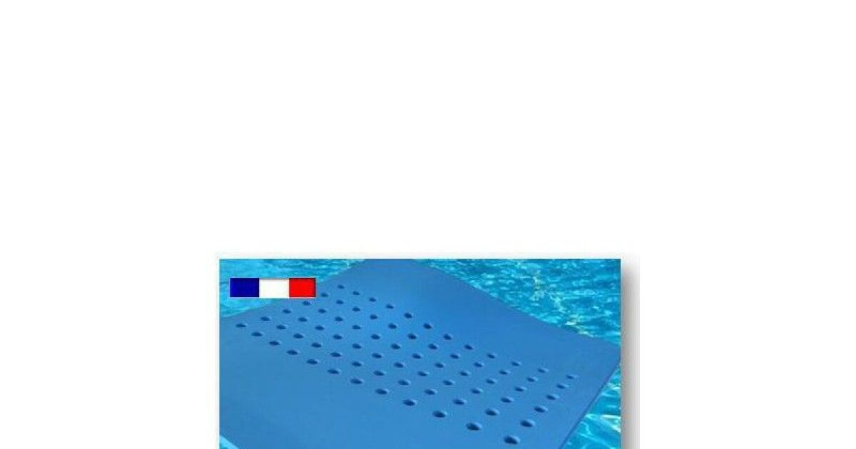 Tapis flottants pour piscine par aquagyms for Tapis mousse piscine