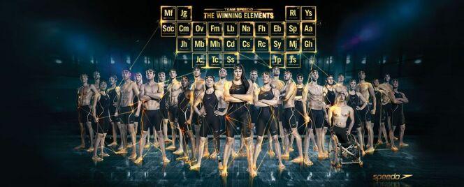 "Team Speedo : the winning elements<span class=""normal italic petit"">© Speedo</span>"