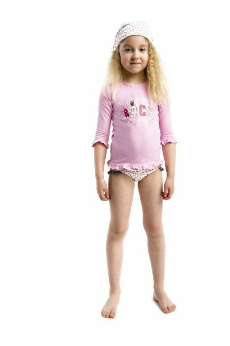 Tee shirt anti uv et fichu petite fille les ultraviolettes for Petite piscine pour enfant