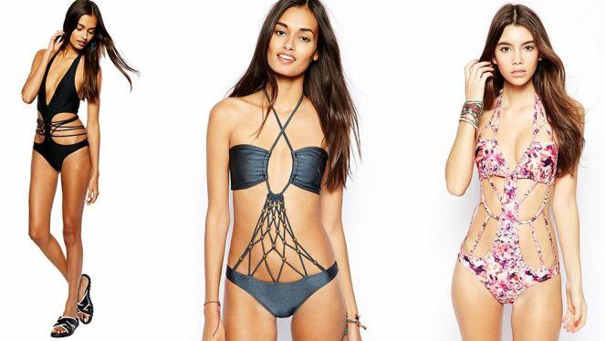 """Tendance beachwear: les maillots de bain originaux<span class=""""normal italic petit"""">© ASOS</span>"""