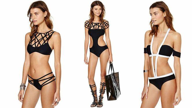 "Tendance beachwear: les maillots de bain originaux<span class=""normal italic petit"">© Nasty Gal</span>"