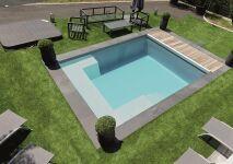 Tendance de l'année Génération Piscine: les piscines coques carrées