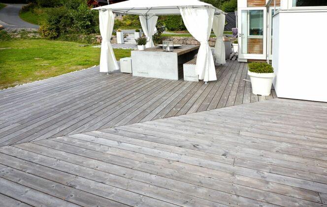 Terrasse en bois © Kebony