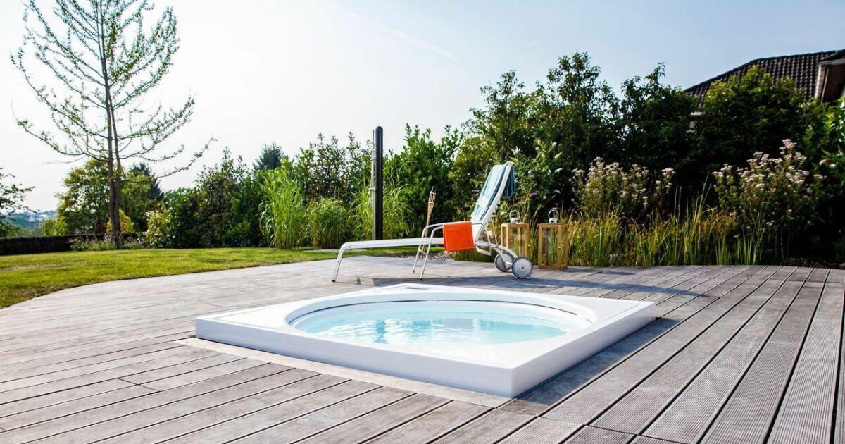 K bony des terrasses en bois norv giennes terrasse en bois avec spa photo 5 - Autour de la piscine photo villeurbanne ...