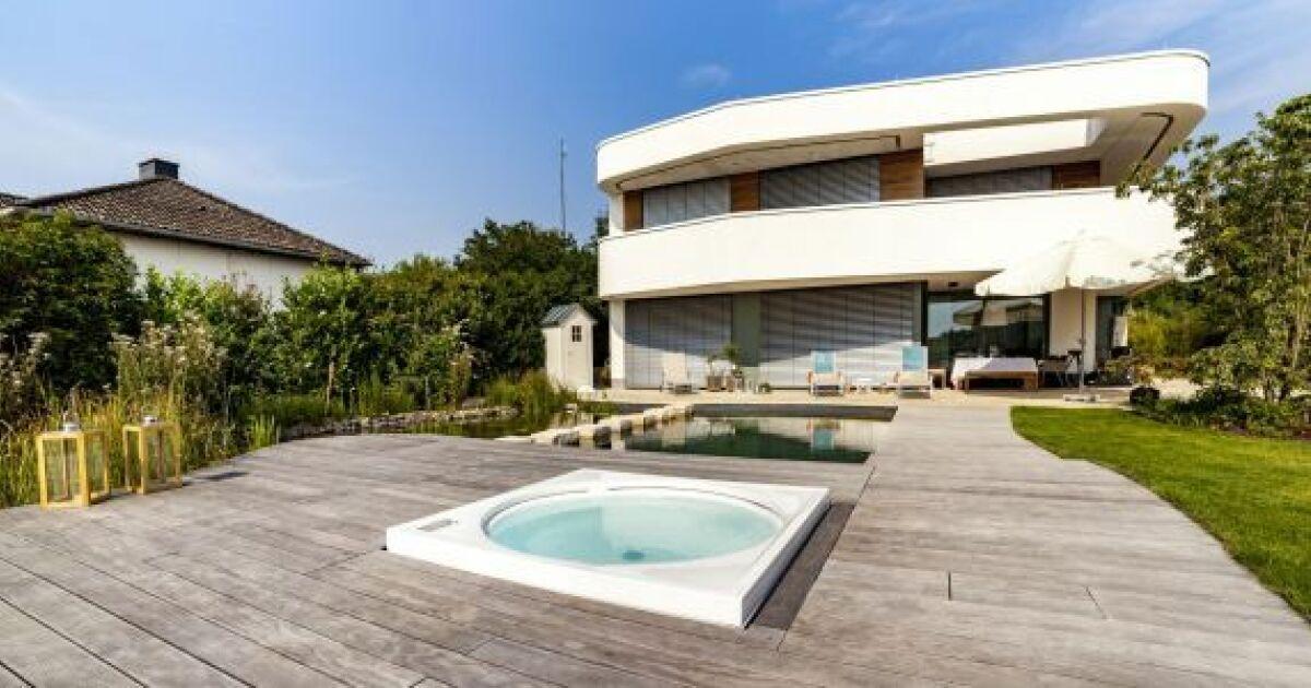 K bony des terrasses en bois norv giennes terrasse et piscine photo 2 - Autour de la piscine photo villeurbanne ...