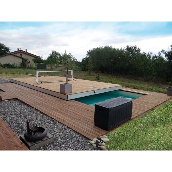 Terrasse mobile de piscine MovingFloor® dOctavia © MovingFloor® d