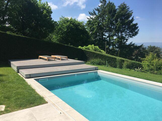 Terrasse mobile de piscine, par EC'Création