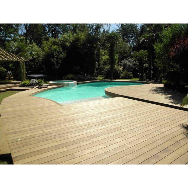 Piscine sarl terrasses bois menuiseries chazelles sur lyon pisciniste loire 42 - Piscine bois octogonale lyon ...