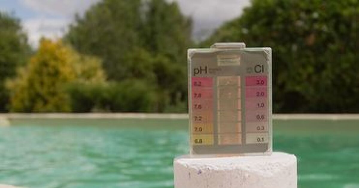 Testeur de ph for Testeur eau de piscine
