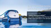 Testez gratuitement votre robot de piscine