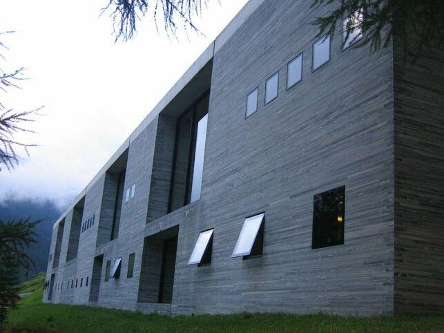 Thermes de Vals : conçues par l'architecte Peter Zumthor.
