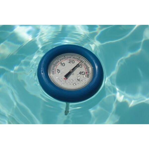 le thermom tre sans fil pour piscine mesurer la. Black Bedroom Furniture Sets. Home Design Ideas