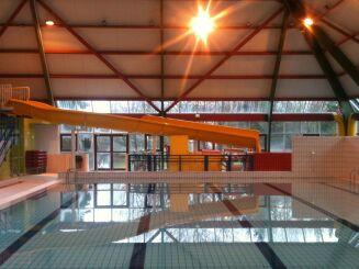 Toboggan de la piscine de Suippes