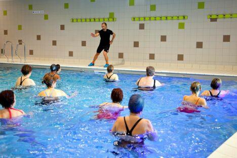 """Tout savoir sur l'aquagym<span class=""""normal italic petit"""">© Fotolia.com</span>"""
