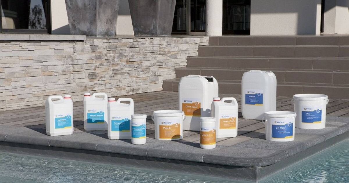 Traitement de l 39 eau manuel produits chimiques zodiac for Traitement eau piscine
