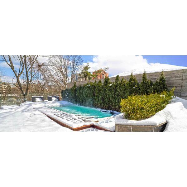Comment transformer sa piscine en spa de nage avec clair azur for Combler une piscine