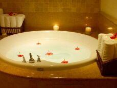 Le tapis de bain bouillonnant