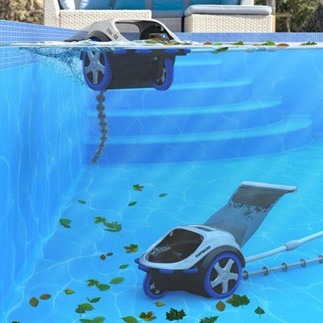TriVac 700, le nouveau robot de piscine hydraulique d'Hayward