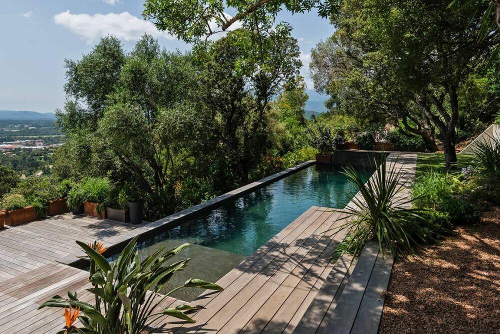 Trophée d'Argent - Catégorie piscine familiale de forme angulaireDR