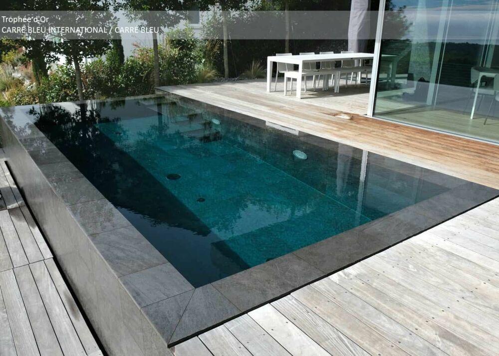 Trophée d'Or - Catégorie piscine installée à l'étrangerDR