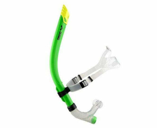 "Tuba frontal Swim Snorkel, par Arena<span class=""normal italic petit"">© Arena</span>"