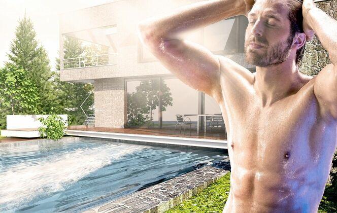 La nage est une part importante de la rééducation, revitalisation et des thérapies de renforcement. HydroStar permet de réguler, grâce à la télécommande ou au bouton piezo, la vitesse et puissance de chaque entraînement pour s'adapter à chaque individu.  © HydroStar - BINDER