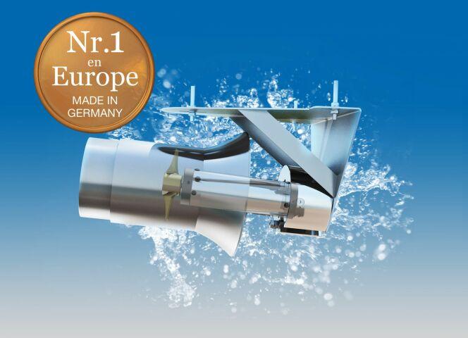 "Turbine de nage pour piscine HydroStar, par Binder<span class=""normal italic petit"">© Binder</span>"