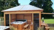 Un abri de spa : protégez et abritez votre bassin