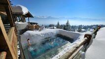 Le Crans, un magnifique hôtel au cœur des Alpes Suisses