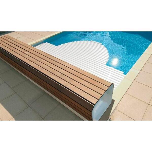 un banc pour volet de piscine. Black Bedroom Furniture Sets. Home Design Ideas