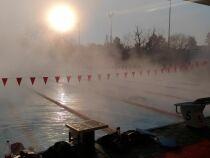 Entraînement hivernal au M.O.N (Mulhouse Olympic Natation)