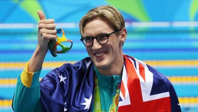 "Mack Horton, champion olympique du 400 m nage libre à Rio.<span class=""normal italic petit"">DR</span>"