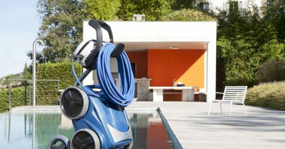 Un chariot pour son robot de piscine d placer le robot for Robot pour piscine