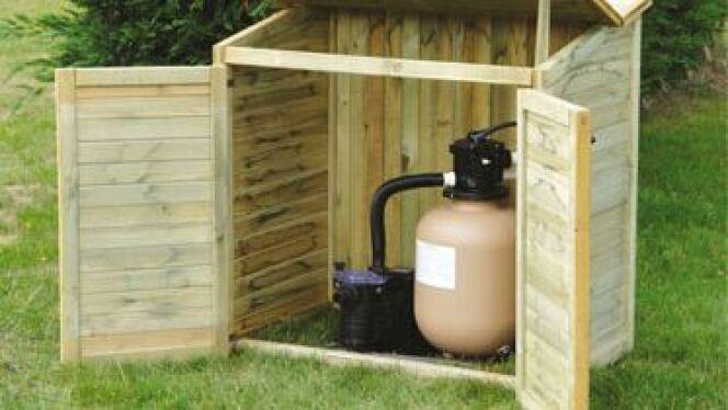 un coffre de filtration pour une piscine plus esth tique. Black Bedroom Furniture Sets. Home Design Ideas