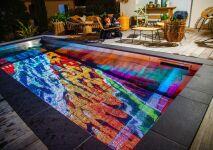 Pooloop : un écran dans votre piscine