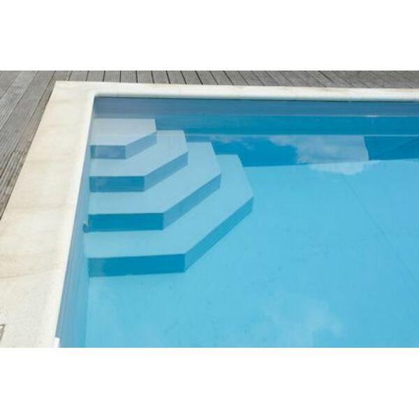 les escaliers de piscine avec liner d coupe et pose. Black Bedroom Furniture Sets. Home Design Ideas