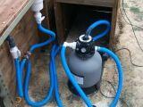 Un groupe de filtration pour piscine