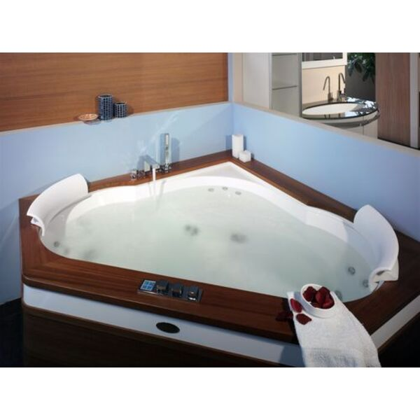 le jacuzzi en bois un moment de d tente authentique et. Black Bedroom Furniture Sets. Home Design Ideas
