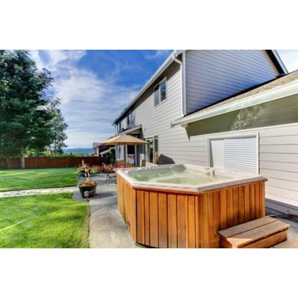 Installer un jacuzzi sur une terrasse - Spa et jacuzzi exterieur ...