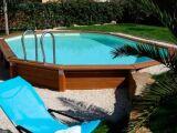 Un liner pour piscine octogonale