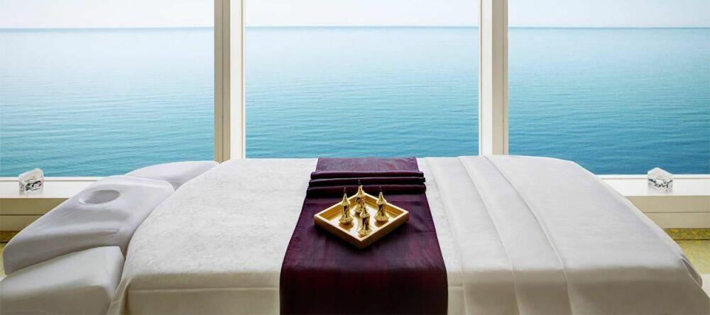 Un petit massage avec vue sur l'océan ? © Hôtel Burj-al-Arab