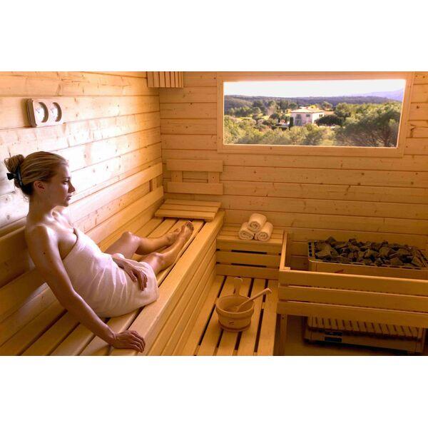 Un sauna dans votre maison un bain vapeur domicile - Quelle temperature dans une maison ...