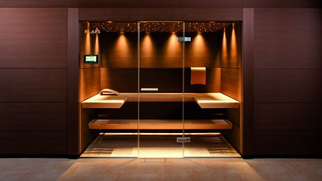 un sauna design le luxe adapt votre int rieur. Black Bedroom Furniture Sets. Home Design Ideas