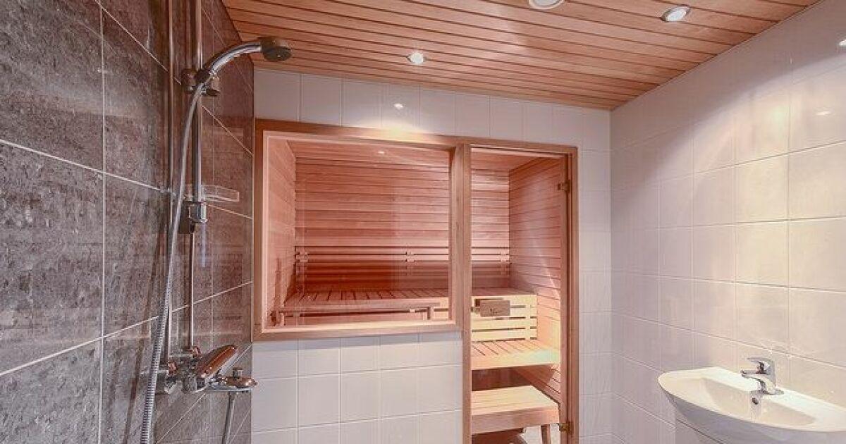 un sauna douche gain de place et hygi ne