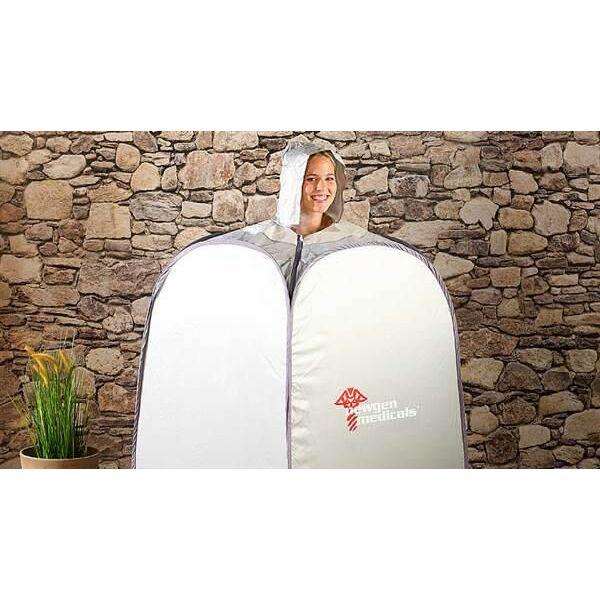 le sauna individuel emporter partout avec vous. Black Bedroom Furniture Sets. Home Design Ideas